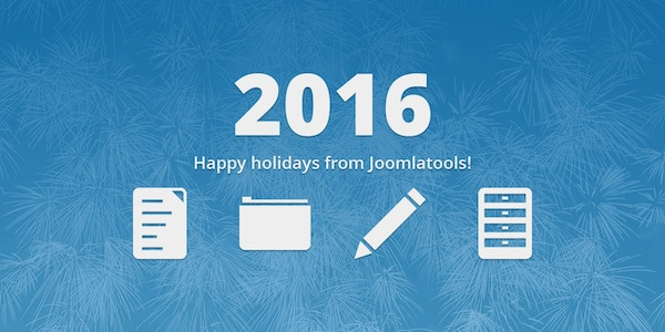 Happy holidays from Joomlatools!