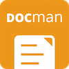 DOCman is the best document & download manager extension for Joomla Logo