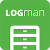 LOGman is the best user & site analytics extension for Joomla Logo